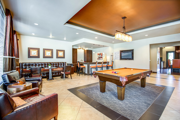 clubhouse at Centerview at Crossroads Apartments