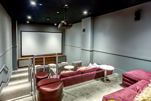 theater at E2 Apartments
