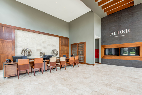 clubhouse at Alder Apartments