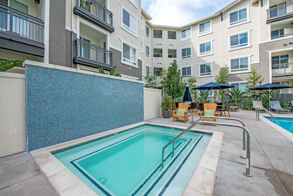 pool at Alder Apartments
