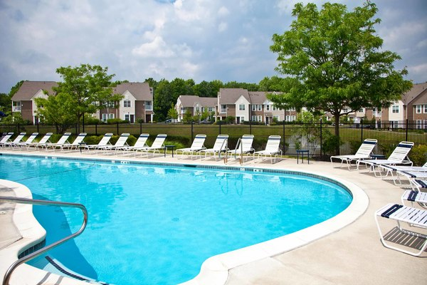 pool at Burrough's Mill Apartments