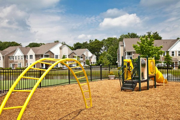 playground at Burrough's Mill Apartments