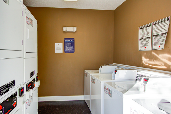 laundry facility at The Promenade at Boiling Springs Apartments