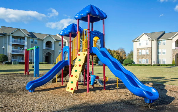 playground at The Promenade at Boiling Springs Apartments