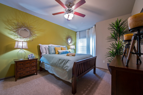 bedroom at Montage at Cinco Ranch Apartments