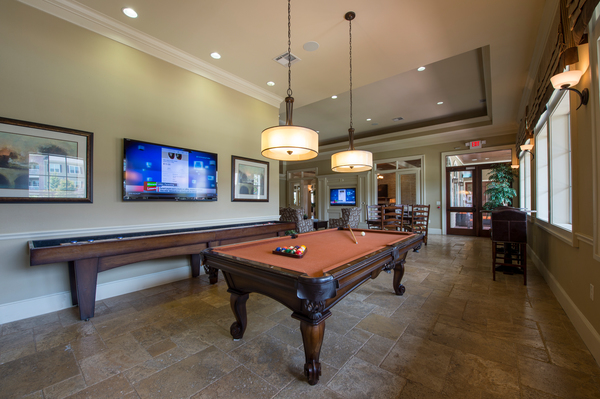 game room at Montage at Cinco Ranch Apartments