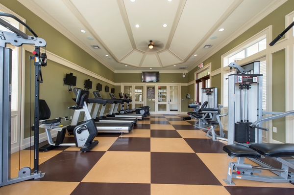 fitness center at Montage at Cinco Ranch Apartments