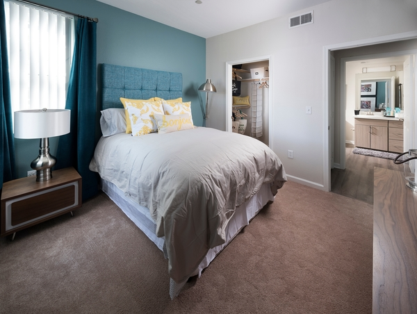 bedroom at Avana Dublin Station Apartments