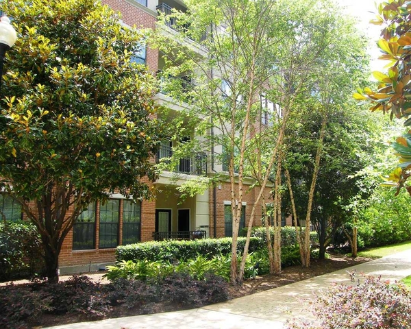 clubhouse at The Circle at Hermann Park - Esplanade Apartments