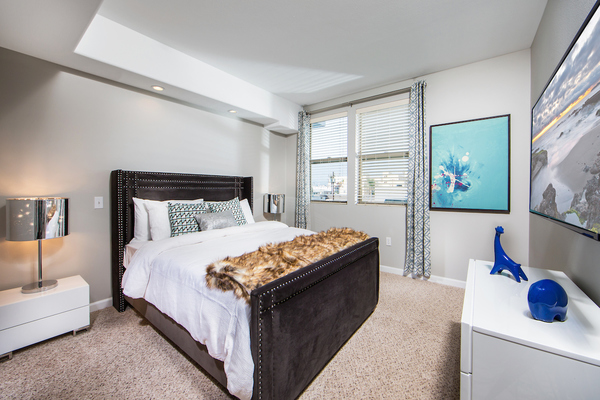 bedroom at Avana on Wilshire Apartments