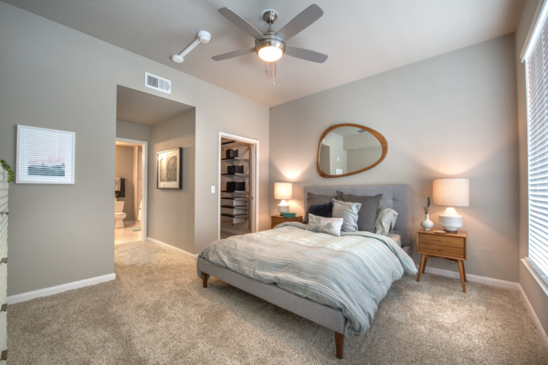 bedroom at SKYE of Turtle Creek Apartments