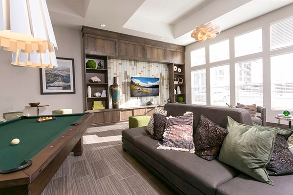 clubhouse at HiLine at Littleton Commons Apartments