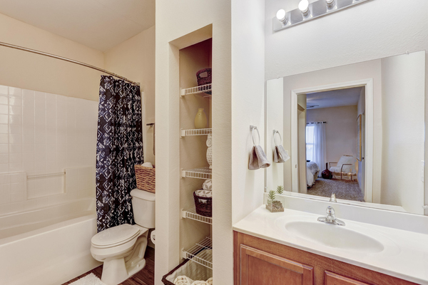 bathroom at Residence at North Penn Apartments