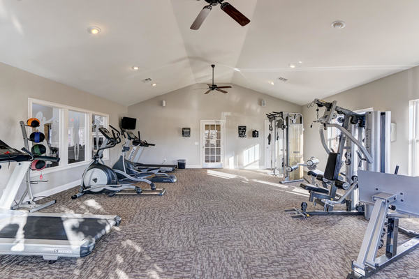 fitness center at Residence at North Penn Apartments