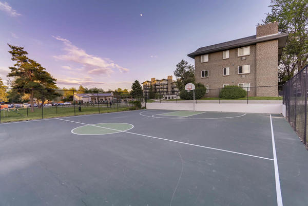basketball at The Lodge Apartment Homes