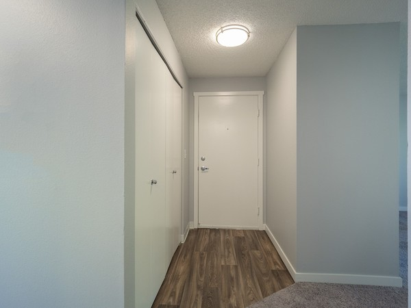 hallway at Rainier Meadows Apartments