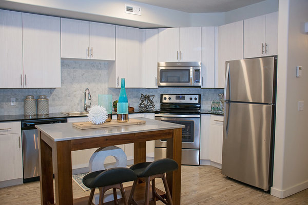 kitchen at Rockledge at Quarry Bend Apartments