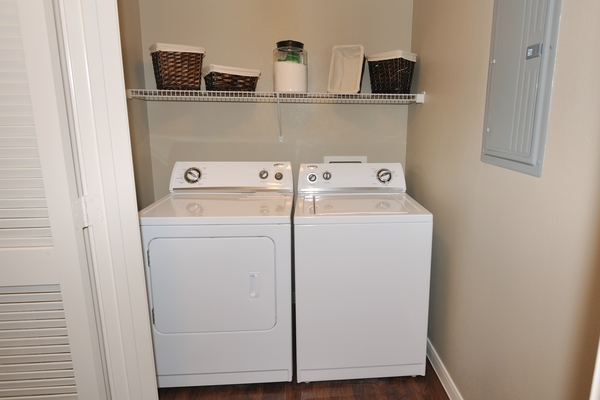laundry room at Falls at Eagle Creek Apartments