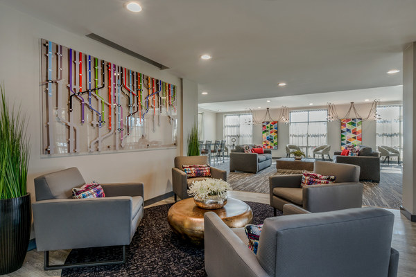 clubhouse at Aventine at Fort Totten, A Greystar Avana Community