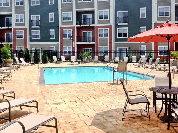 pool at Aventine at Fort Totten, A Greystar Avana Community