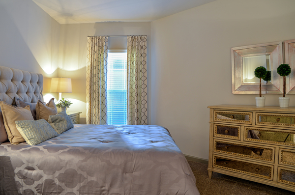 bedroom at Avana Uptown Apartments