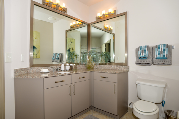 bathroom at Avana Uptown Apartments