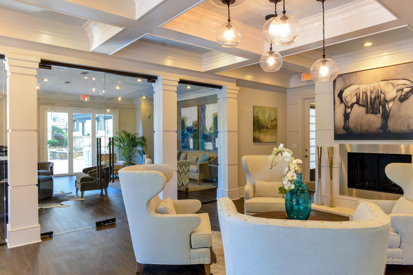 clubhouse at Avana Uptown Apartments