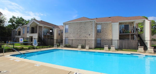 pool at Calder Square Apartments