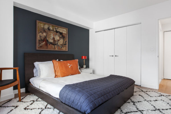 bedroom at The Chelsea Apartments