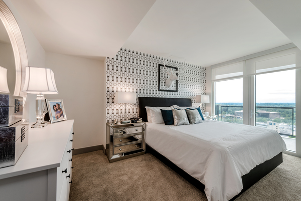 Bedroom at Adaire Apartments