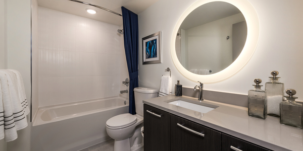 Bathroom at Adaire Apartments