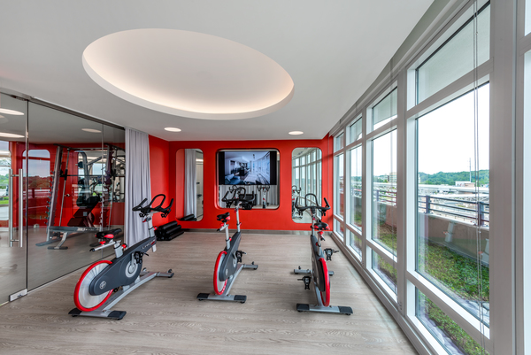 Fitness Center at Adaire Apartments