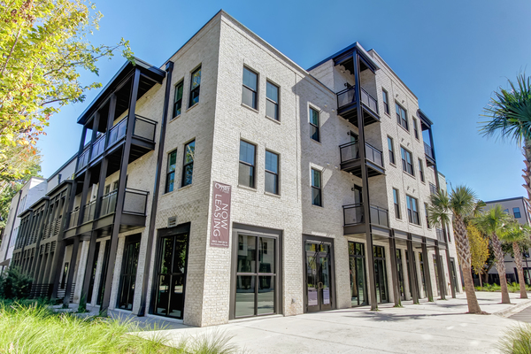 exterior at Oyster Park Apartments