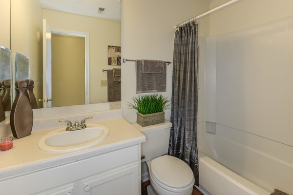 bathroom at Summit Avent Ferry Apartments