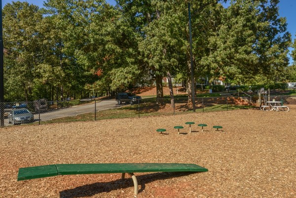 dog park at Summit Avent Ferry Apartments