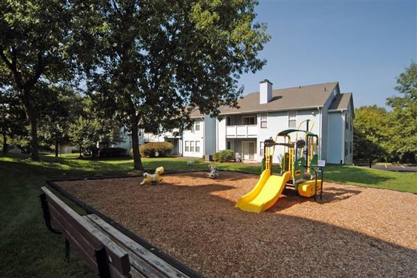 playground at The Madison at Eden Brook Apartments