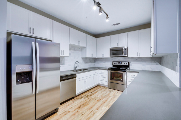 kitchen at Regal Parc Apartments