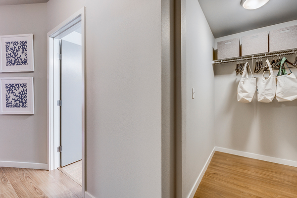 closet at The Queen Anne Collection - Towne