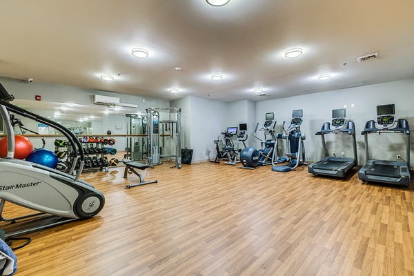 fitness center at The Queen Anne Collection - Towne