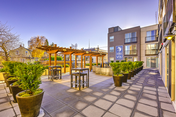 patio at The Queen Anne Collection - Towne
