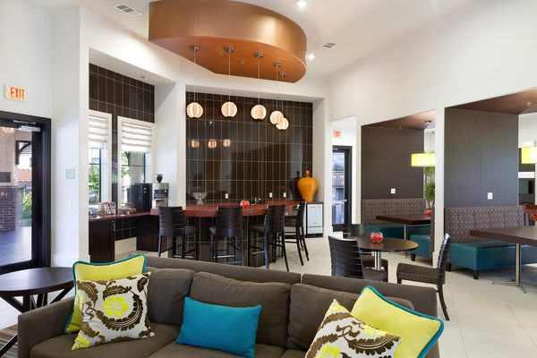 clubhouse at Ladera Apartments