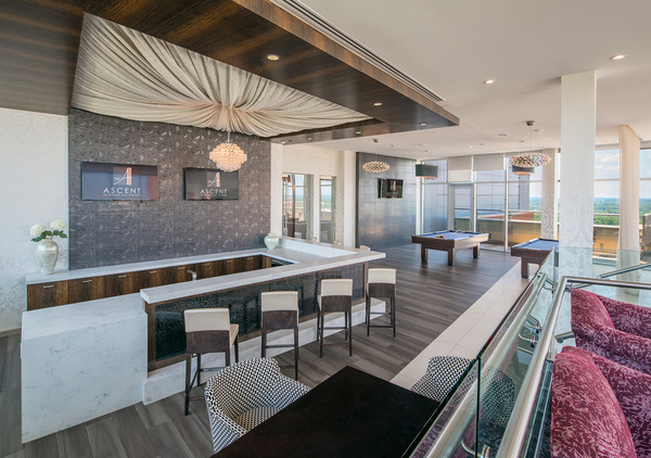 clubhouse at The Ascent at Spring Hill Station Apartments