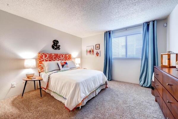 bedroom at Terra Vista at the Park Apartments