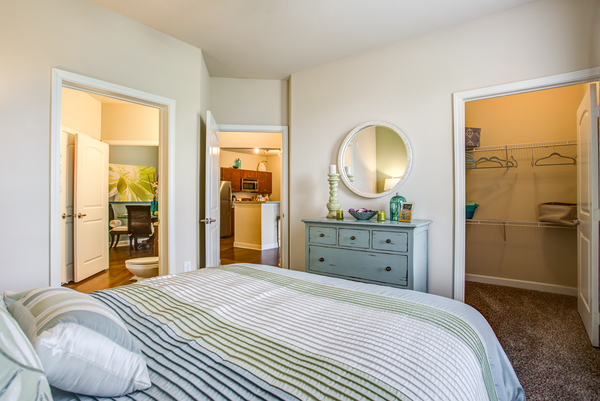 bedroom at Town Center at Lakeside Village Apartments