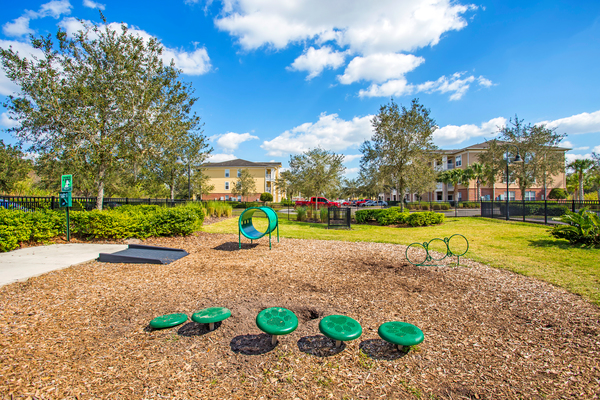 dog park at Town Center at Lakeside Village Apartments