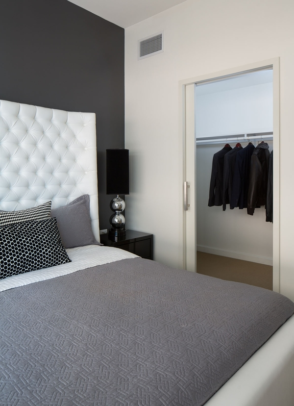 bedroom at Watermarke Tower Apartments