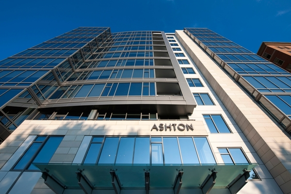 exterior at Ashton at Judiciary Square Luxury Apartments