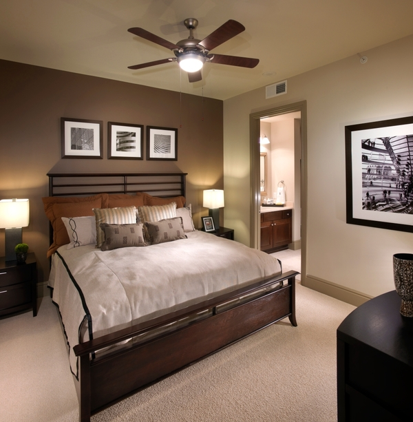bedroom at Ashton at Judiciary Square Luxury Apartments