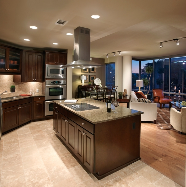 kitchen at Ashton at Judiciary Square Luxury Apartments