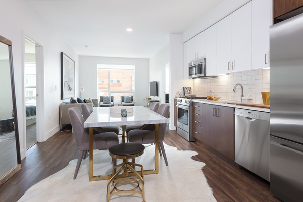 kitchen at Duboce Apartments